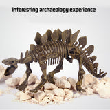 3D Stereoscopic Dinosaur Archaeological Excavation Toy
