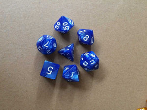 Polyhedral Dice 7pcs/Set Board Game (Random Shipping)
