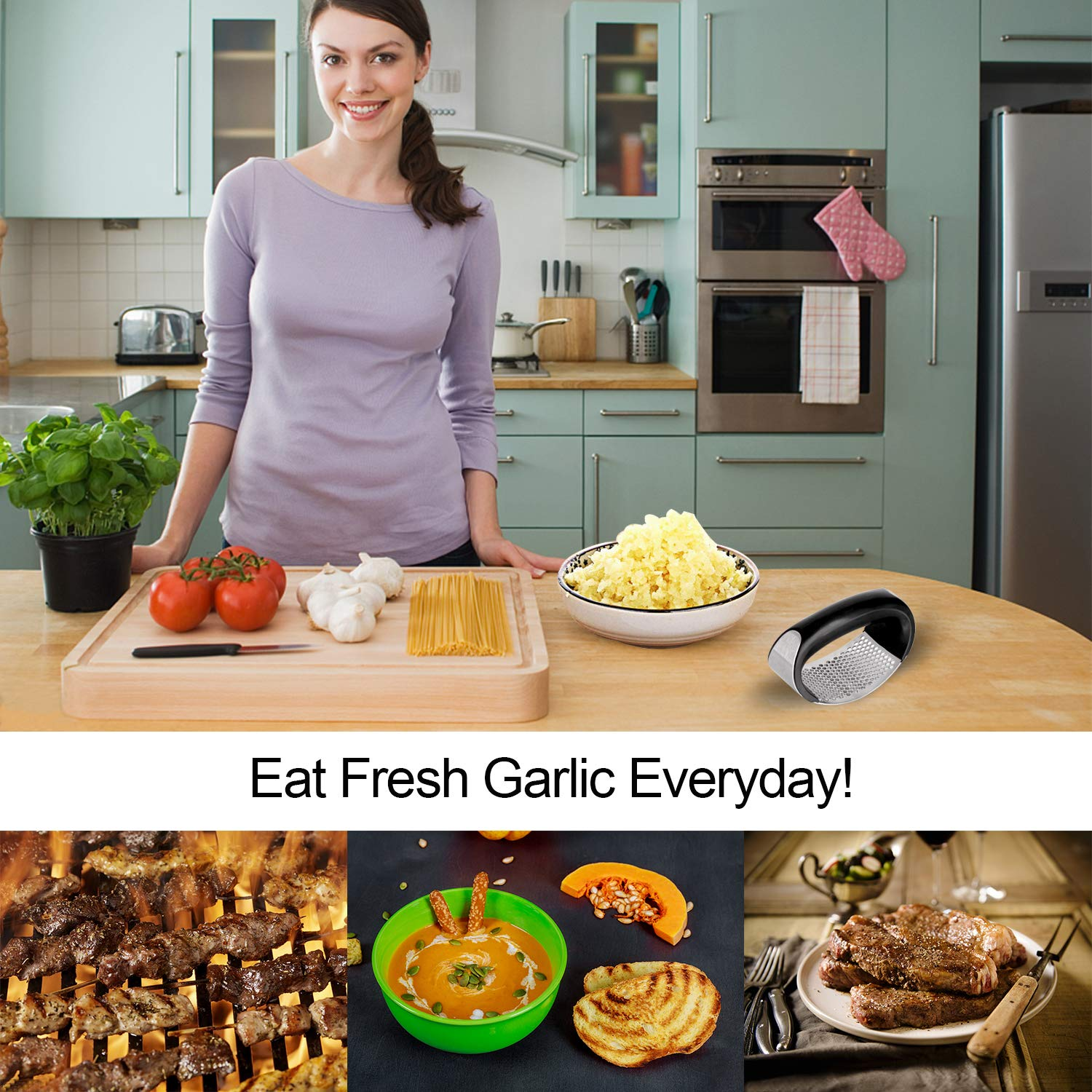 Convenient Hand Press Garlic Tools-20% Off Only This Week,Global Free Shipping