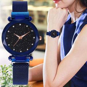 Women Luxury Sky Watch - With Bracelet