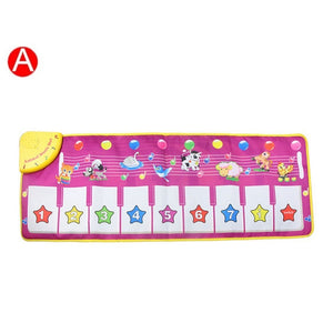 Musical Instrument Voice Singing Play Mat for Kids