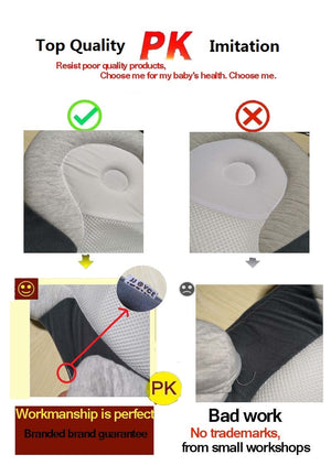 Baby Pillow Anti-rollover Cotton Pillow
