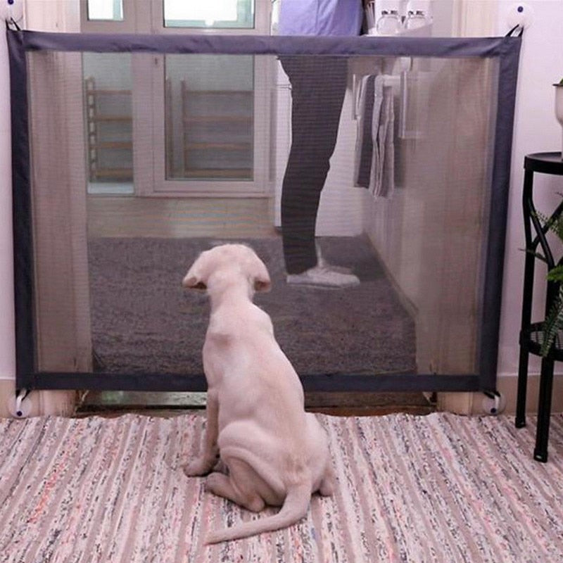 Dog Gate Portable Folding Safe Guard