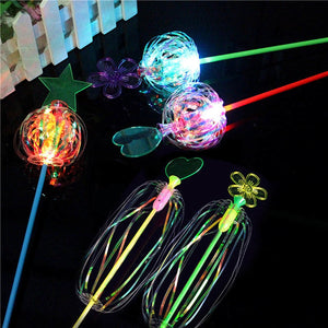 10 Pcs($2.99 Each)Variety Magic Flashing Twisted Bubble Wand