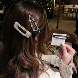Elegant Pearls Hair Clips(Only 3$ Each Pcs)