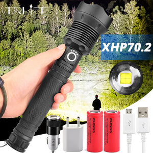 Xhp70.2 Tactical Flashlight-Free Shipping