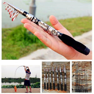 Super Hard Mini Fishing Rod