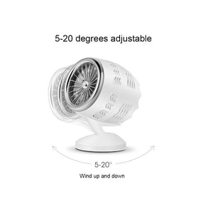 Mini USB Double Leaf Turbo Fan