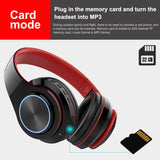 Bluetooth Wireless Headphones With MIC Support TF Card