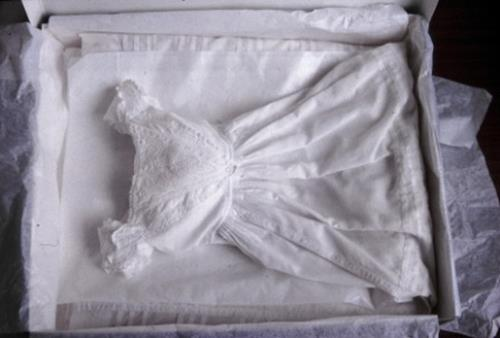 Wedding Veil / Christening Gown Acid-Free Storage Box and Acid-Free Tissue