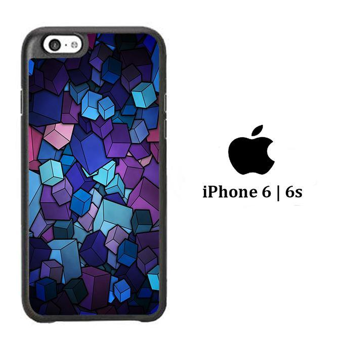 Abstract Purple Box iPhone 6 | 6s Case - ezzystore - Phone Case