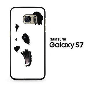 Abstract White Panda Samsung Galaxy S7 Case