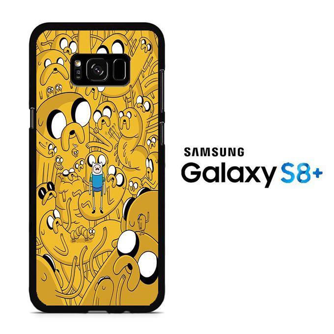 Adventure Time Finn Confused Samsung Galaxy S8 Plus Case