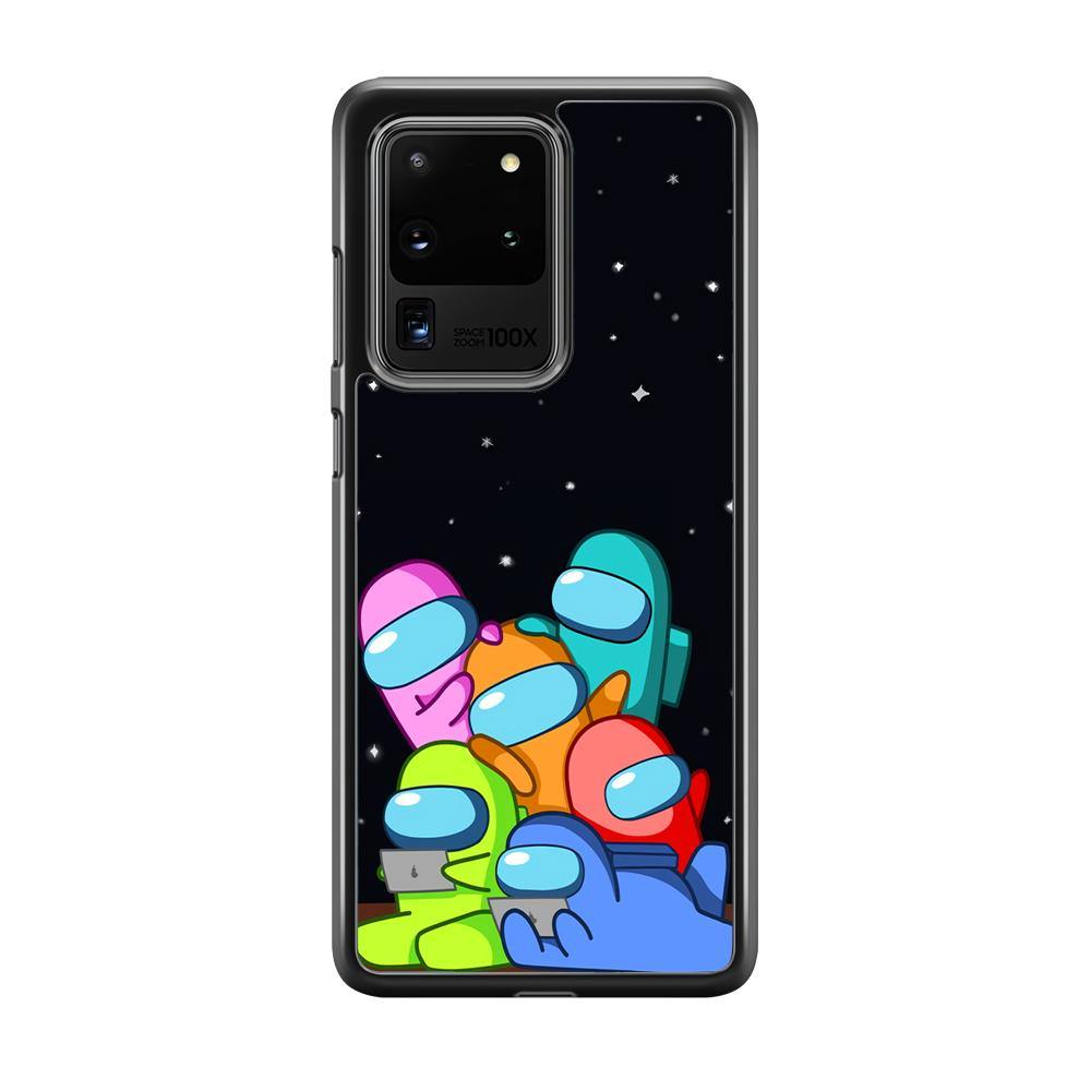 Among Us Enjoy Space Samsung Galaxy S20 Ultra Case - ezzyst