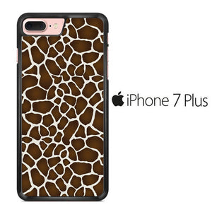 Animal Giraffe Skin 01 iPhone 7 Plus Case