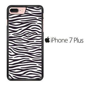 Animal Zebra Skin 01 iPhone 7 Plus Case