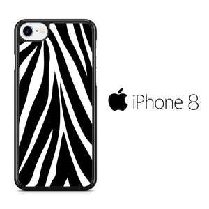 Animal Zebra Skin 02 iPhone 8 Case