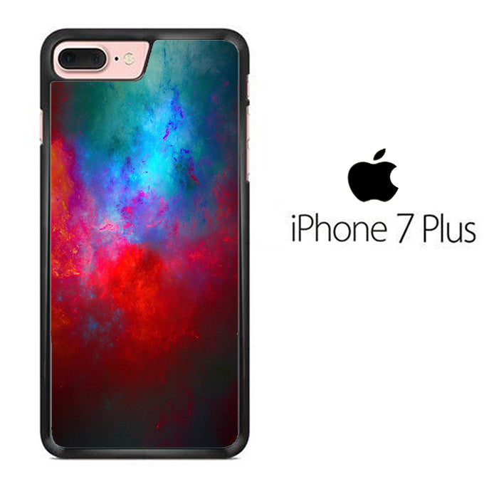 Blend Dark Red Blue iPhone 7 Plus Case - ezzystore - Phone Case