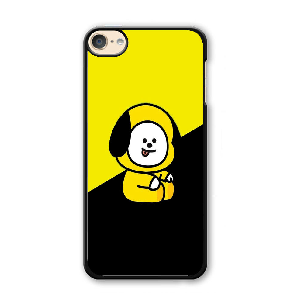Chimmy Yellow Black iPod Touch 6 Case