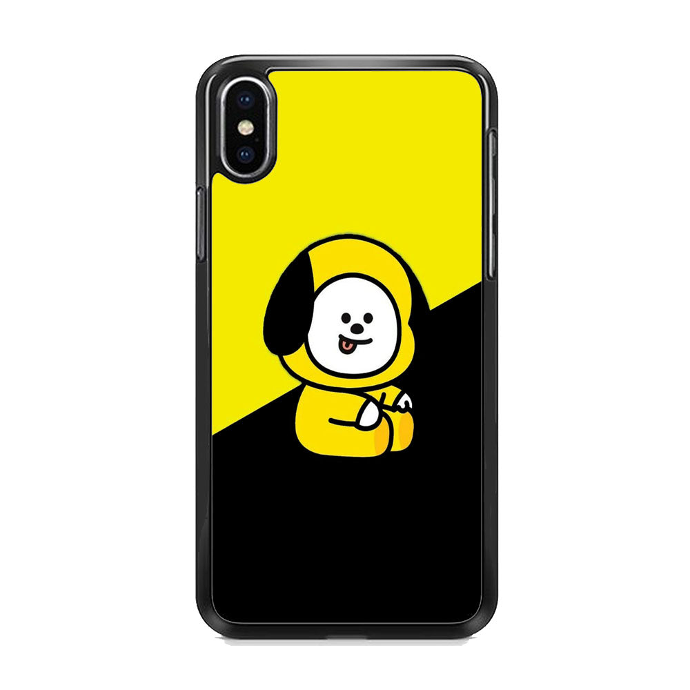 Chimmy Yellow Black iPhone Xs Max Case