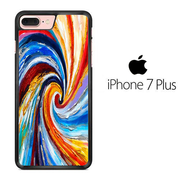 Colour Paint Hole iPhone 7 Plus Case - ezzystore - Phone Case