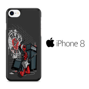 Deadpool Live Jamming iPhone 8 Case