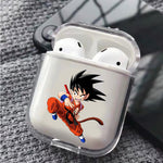 Dragon Ball Kid Goku Silicone Protective Clear Case Cover For Apple Airpods