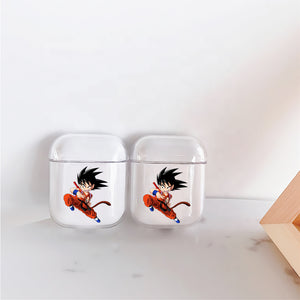 Dragon Ball Kid Goku Protective Clear Case Cover For Apple Airpods