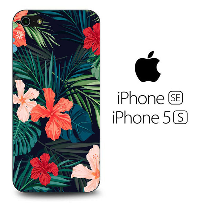 Flowers Mix Leaf iPhone 5 | 5s Case