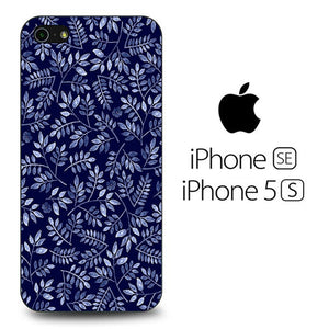 Flowers Navy iPhone 5 | 5s Case