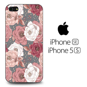 Flowers Paper Mix iPhone 5 | 5s Case