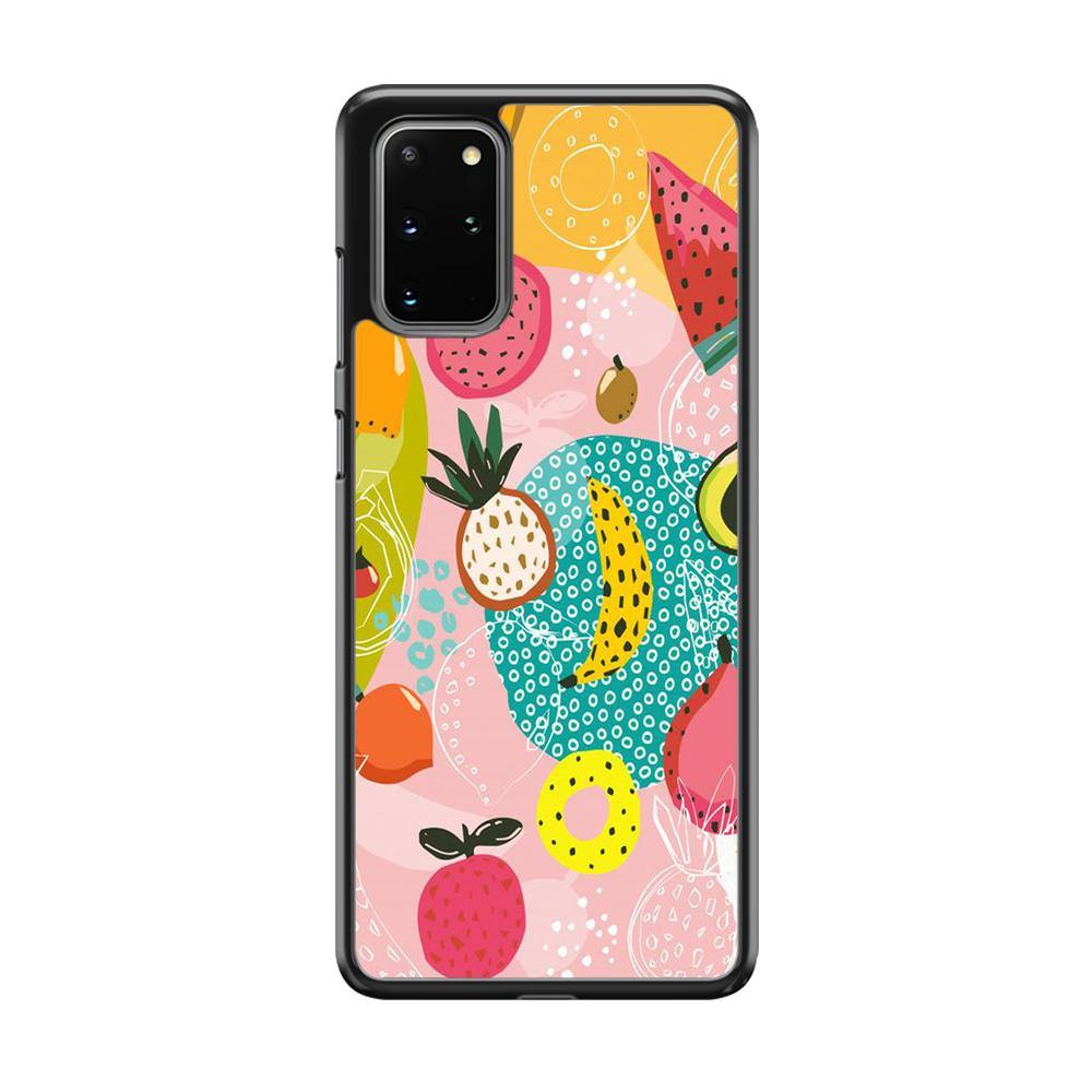 Fruit Mix Dessert Samsung Galaxy S20 Plus Case