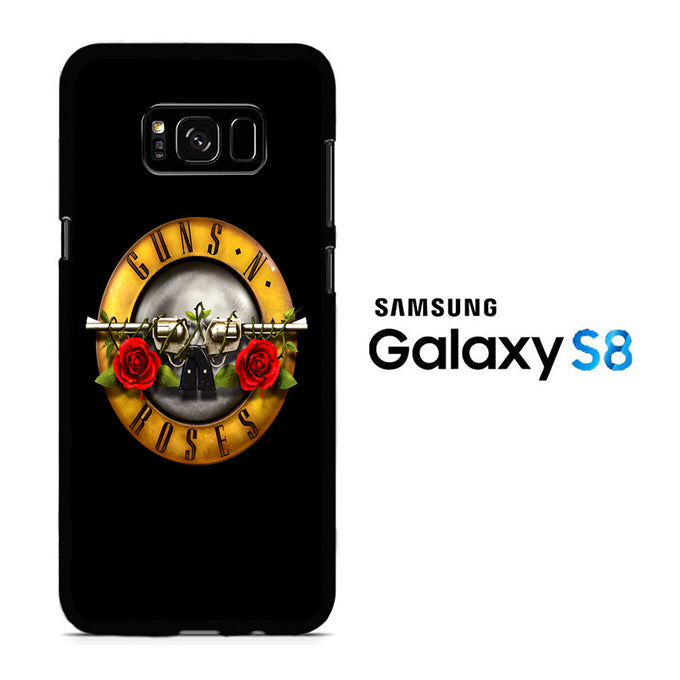 GNR Black Samsung Galaxy S8 Case - ezzystore - Phone Case