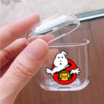 Ghost Busters X Baby Milo Silicone Protective Clear Case Cover For Apple Airpods