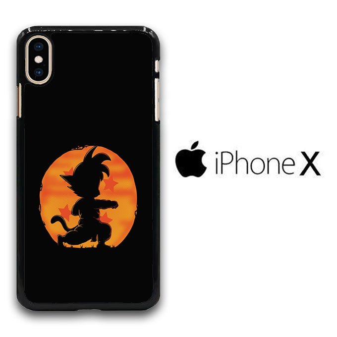 Goku Dragon Ball iPhone X Case