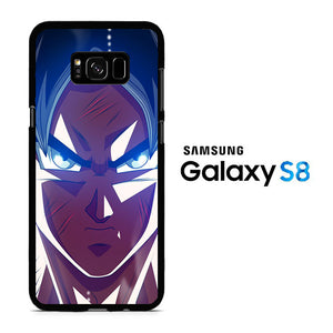 Goku Face 001 Samsung Galaxy S8 Case