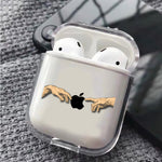 Hand to Hand Apple Protective Clear Case Cover For Apple Airpods