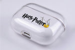 Harry Potter Golden Snich Ball Protective Clear Case Cover For Apple AirPod Pro