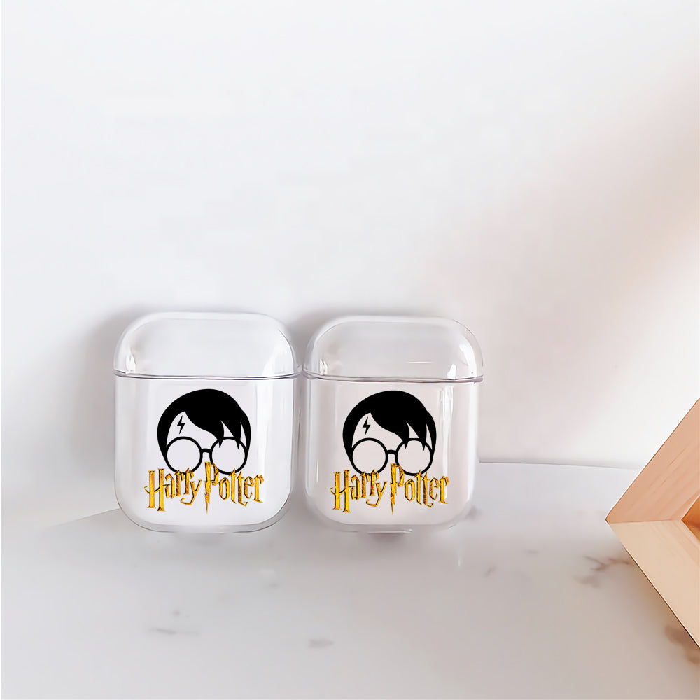 Harry Potter Logo Icon Protective Clear Case Cover For Apple Airpods