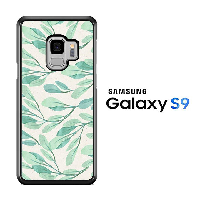 Leaf Green Nature Samsung Galaxy S9 Case