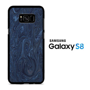 Marble Blue 001 Samsung Galaxy S8 Case