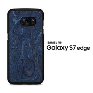 Marble Blue 001 Samsung Galaxy S7 Edge Case