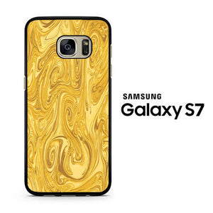 Marble Gold Samsung Galaxy S7 Case - ezzystore - Phone Case