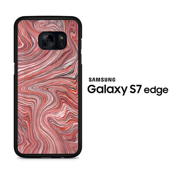 Marble Pink Mix Samsung Galaxy S7 Edge Case - ezzystore - Phone Case