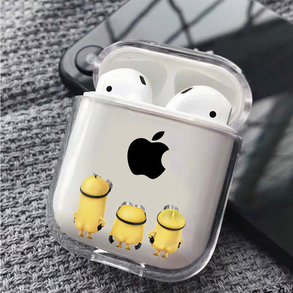 Minion See Apple Protective Clear Case Cover For Apple Airpods