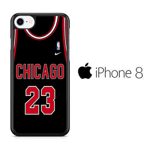 NBA Chicago Black 23 iPhone 8 Case