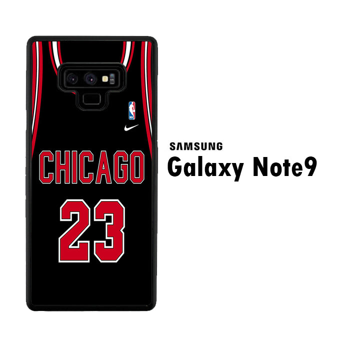 NBA Chicago Black 23 Samsung Galaxy Note 9 Case