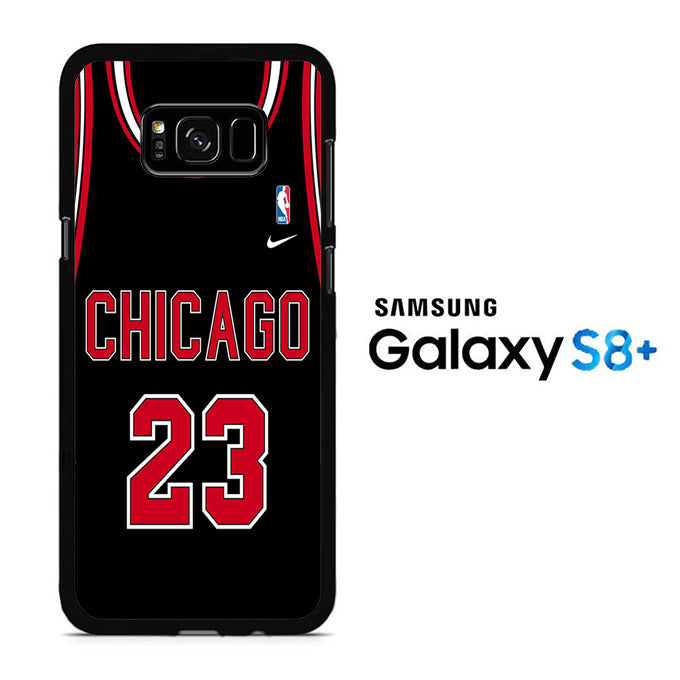 NBA Chicago Black 23 Samsung Galaxy S8 Plus Case