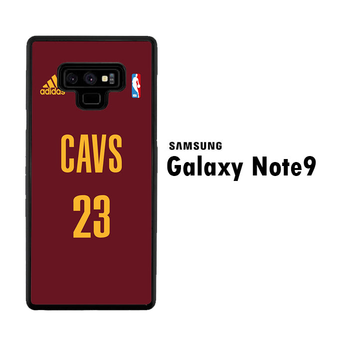 NBA Cleveland Jersey Samsung Galaxy Note 9 Case
