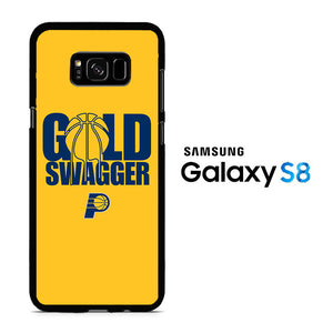 NBA Gold Swagger Samsung Galaxy S8 Case